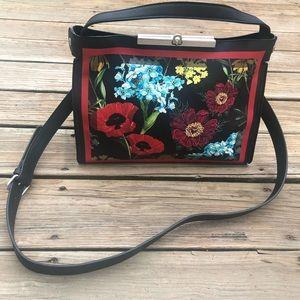 Nanette Lepore Floral CrossBody Bag Purse Handbag